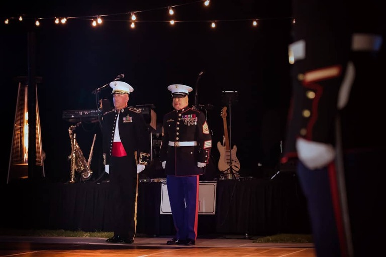 Guest of Honor, GySgt Isaac Gallegos, Marines, Military Events, USMC, USMC Birthday Ball